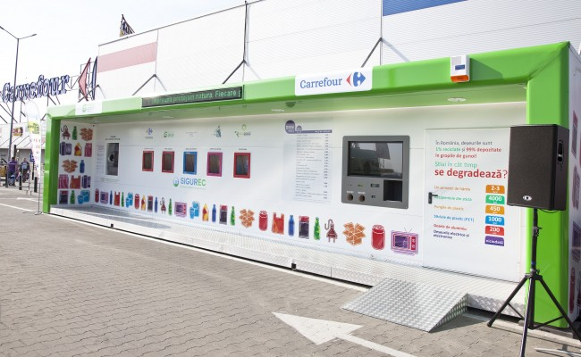 SIBIU – SMART collection station launch