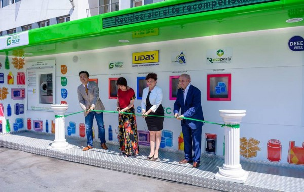 TULCEA– SMART collection station launch