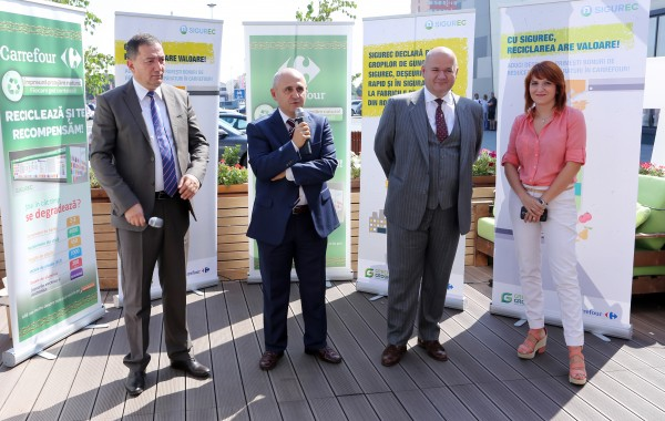 Launching SIGUREC station In Galati